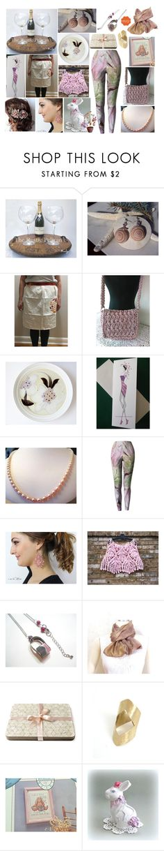"""""""For The Love of Rose"""" by belladonnasjoy ❤ liked on Polyvore featuring Noritake and vintage"""