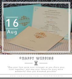 Bagi para pasangan yg sedang melaksanakan Acara Pernikahannya , Happy Wedding ya..  ღTassia Laksmita & Yogi Prawira ღ  ~16 Agustus 2014~  Info & Pemesanan Kartu Undangan Hub : 022-5223378/70706073 Jl. Pasirluyu Timur No. 155-157 Bandung... Cetak Cepat & Rapi, Harga Murah bs disesuaikan dgn budget, Desain dpt dirubah sesuai keinginan.. Tgl 17 Agustus 2014, SAM ARISTA untuk sementara #TUTUP dan #Buka Kembali Tgl 18 Agustus 2014.