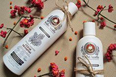 Make-Life-Green: Kosmetyczni Ulubieńcy - Cedrowy szampon i odżywka do włosów firmy Receptury Babuszki Agafii z serii White Agafia