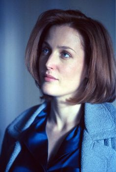 Gillian Anderson as Special Agent Dana Scully Dana Scully, X Files Funny, David And Gillian, Chris Carter, Fiction, Actrices Hollywood, Celebs, Celebrities, Reylo