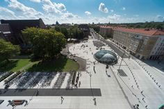 The Triangeln area in central Malmö used to be a quiet place, set apart from the busy main streets. The new City Tunnel station has transformed the area to become a hub for the region's 37,000 commuters. Today, it is one of the city's liveliest living ...