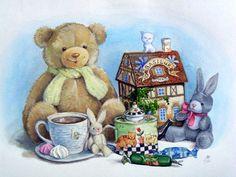 Детские иллюстрации. МАРИЯ РЫТОВА Children's illustration. MARIA Rytova:
