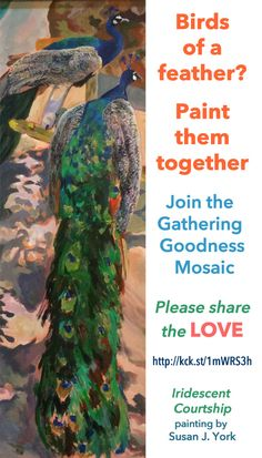 Feather Painting, Share The Love, The Gathering, Bird Feathers, Mosaic, Birds, Good Things, Projects, Image