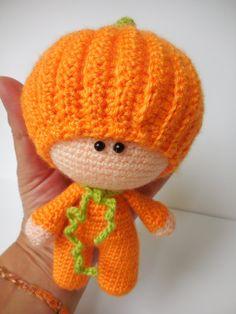 Crochet Pattern Amigurumi Doll Pumpkin Pippa