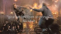 One of my favorite parts of The Order of the Phoenix.