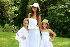 66353bf9ab0 Mums and daughters collections. Cotton white kaftans and dresses