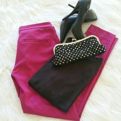 "💞SALE💞 Zara Hot Pink Pants Awesome Hot Pink Zara Pants 30"" Inseam Zara Pants"