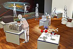 M!ND Center at Julius Maximilian University of Würzburg >> Conceptual Design, Design & Build of TouchScience@M!ND
