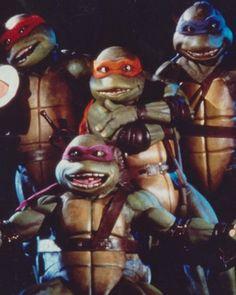 "'Teenage Mutant Ninja Turtles': Untold Story of the Movie ""Every Studio in Hollywood"" Rejected - Hollywood Reporter Ninja Turtles Movie, Teenage Mutant Ninja Turtles, Ninja Turtle Pumpkin, Elias Koteas, Turtle Costumes, Pirate Costumes, Adult Costumes, Pop Culture Halloween Costume, Halloween Costumes"