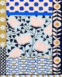 Anisa Makhoul Illustration Love Patternbank recently discovered the beautiful work of Anisa Makhoul and thought wed share some of her gorgeous illustrations.Anisa is the daughter The post Anisa Makhoul Illustration Love appeared first on Design Ideas. Textile Prints, Textile Patterns, Textile Design, Flower Patterns, Textiles, Print Patterns, Floral Prints, Floral Print Design, Illustration Blume