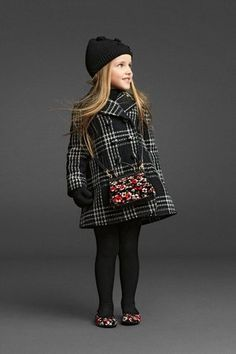 Get Serious! Kid's fashion is A Thing - coat hat winter style