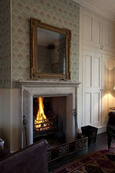 The Gunton Arms, North Norfolk Old Cottage, Cottage Style, Cottage Living, English Country Manor, English Style, Country Homes, Elisabeth I, Fireplace Mantels, Fireplaces