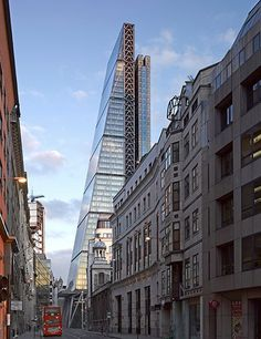Cheekily nicknamed the Cheese Grater by locals for its form, which recalls the kitchen implement, this 50-story tapered office tower by Rogers Stirk Harbour + Partners is the Leadenhall Building, one of the latest additions to London's fast-growing skyline