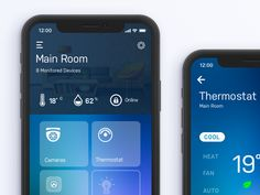 A simple smart home automation app that allows control and management of various IoT devices. Sincerely yours, Citrusbyt Smart Home Steuerung, Smart Home Control, Home Design, Interior Design, App Ui Design, Web Design, Kerala, Home Camera, Smart Home Automation