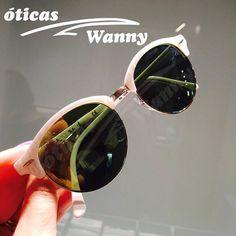 Detalhes do belíssimo Ray Ban Clubround ♥ #rayban #clubround #oculos #sol #wanny #oticaswanny #redondo #clubmaster