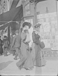 Street Scenes in Ireland from between 1890-1910
