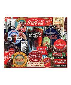Look at this #zulilyfind! Coca-Cola Decades of Tradition 1,000-Piece Puzzle by Coca-Cola #zulilyfinds