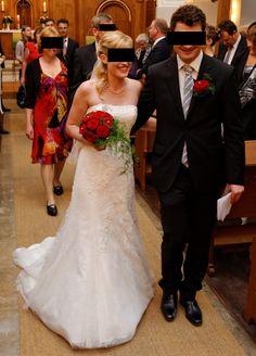 ♥ Traumhaftes Brautkleid aus Spitze ♥  Ansehen: http://www.brautboerse.de/brautkleid-verkaufen/traumhaftes-brautkleid-aus-spitze/   #Brautkleider #Hochzeit #Wedding