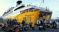 Corsica, motociclisti in partenza - corsicavivilaadesso.it #CorsicaVivilaAdesso