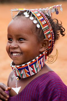 A girl from Kenya