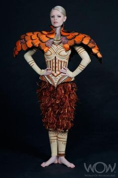 world of wearable art 2011 Chrysolophus-Pictus,-Nicole-Pitchers,-United-Kingdom-LR