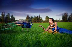 Photo Beauty In Blue par Elena Paraskeva on 500px