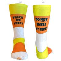 Lacrosse Sublimated Mid Calf Socks. Fun Halloween Socks for Lax Girls! LuLaLax.com
