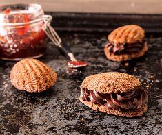 Schokolade-Madeleines