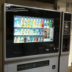 タッチパネル自販機