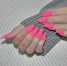 nails tumblr pink