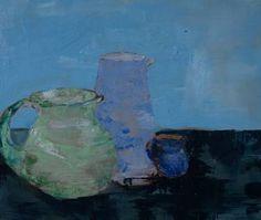"Saatchi Art Artist Mei Yee Lam; Painting, ""The three jugs"" #art"