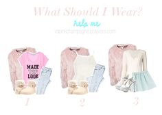"""""""What Should I Wear?"""" by vspinkchampagne ❤ liked on Polyvore featuring Estradeur, Chloé, Tara Jarmon, Charlotte Russe, Topshop and UGG Australia"""