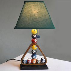 What Appliances Do You Need for the Ultimate Home Bar - Man Cave Home Bar Home Decor Vases, Home Decor Furniture, Furniture Online, Pool Table Room, Table Lamps For Bedroom, Man Cave Home Bar, Luminaire Design, Lamp Design, Cool Lamps