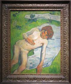 Breton Boy, Paul Gauguin