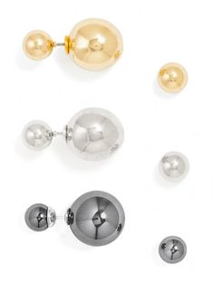 Metallic 360 Stud Set (RETAIL VALUE $84) Earring | BaubleBar