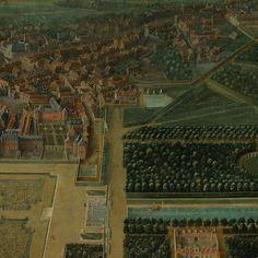 View of the Chateau de Fontainebleau (1718-1723) Pierre-Denis Martin  -  Chateau de Fontainebleau Fontainebleau, Louis Xiv, Art Google, City Photo, Art Projects, Museum, Culture, World, Stone