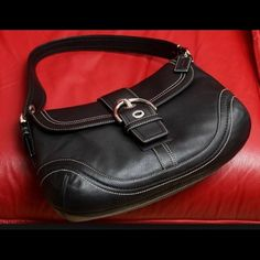 Coach Classic Purse New condition black leather Coach purse. In mint condition. Coach Bags