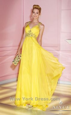 Alyce Prom 6249 Alyce Paris Prom Estelle's Dressy Dresses in Farmingdale , NY Prom Dress 2014, A Line Prom Dresses, Pageant Dresses, Homecoming Dresses, Strapless Dress Formal, Bridesmaid Dresses, Formal Dresses, Prom 2014, Yellow Evening Dresses
