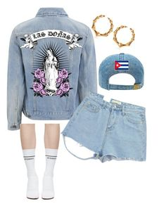 """""""Untitled #5551"""" by stylistbyair ❤ liked on Polyvore featuring Levi's, Vetements, Chicnova Fashion and Balmain"""