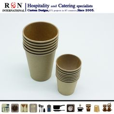 Hospitality Supplies, Disposable Coffee Cups, Party Cups, Coffee Shop, Catering, Tea Cups, Planter Pots, Custom Design, Tableware