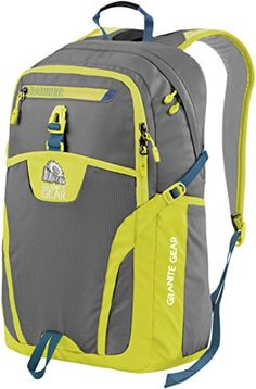 Granite Gear Campus Voyageurs Backpack  FlintNeolimeBleumine >>> Check out the image by visiting the link.Note:It is affiliate link to Amazon.