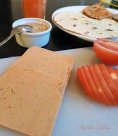 Τυρί τσένταρ - Dairy-free Vegan Cheese, Cheddar Cheese, Dairy Free, Gluten Free, Ethnic Recipes, Food, Cheddar, Glutenfree, Essen