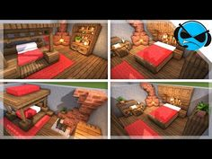 1 Minecraft: 5 Medieval Bedroom Designs Ideas For 1 14 YouTube in 2020 Medieval bedroom Bedroom design Minecraft plans