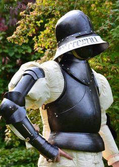 blackened armour with salat