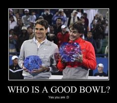 Who is a Good Bowl Motivational Poster