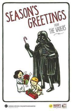 Vader Family Christmas