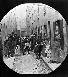 The Victorian Era, a time of great economic inequality and brutality towards the poor. God Bless Our Queen Victoria. Victorian London, Victorian Life, Vintage London, Victorian History, Victorian Street, Old London, East End London, London History, British History