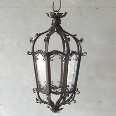 Chateau Domingue - 19th c. French Iron Lantern