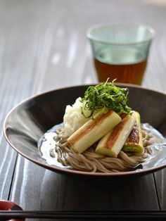 Wine Recipes, Vegan Recipes, Cooking Recipes, Asian Cooking, Easy Cooking, Slow Food, Vegan Foods, Japanese Food, Japanese Noodles