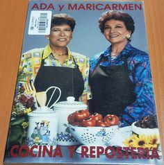 Título: Aprenda con Ada y Maricarmen cocina y repostería para toda ocasión / Autor: Repetto de Ruiz, Ada /  Ubicación: FCCTP – Gastronomía – Tercer piso / Código:  G 641.5 R42A